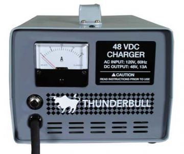Club Car, Thunderbull 48-volt 13 amp charger (export charger 220/230v)